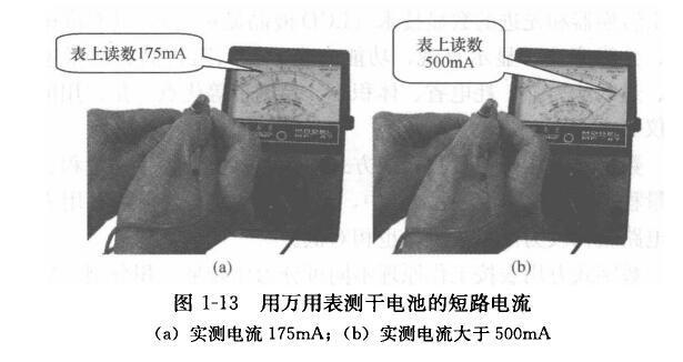 使用指针式万用表测量直流电流的操作方法及注意事项