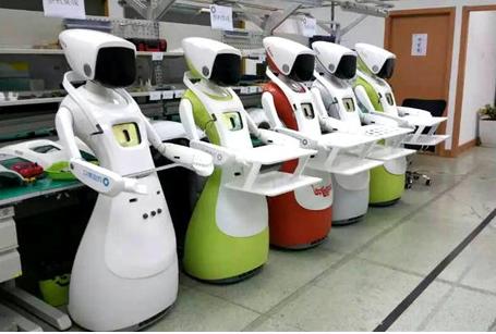 近年来服务机器人发展势头迅猛,未来前景可期