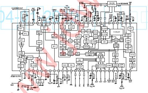 常见组装机彩电电路图集详细资料免费下载