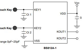BS81x触摸按键系列芯片的详细中文数据手册免费下载