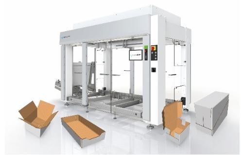 舒伯特全新lightline系列可预先配置的装箱机,满足个性化需求