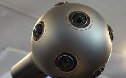 诺基亚VR相机设备OZO:由8个同步快门传感器和...