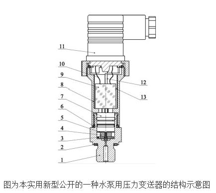水泵用压力变送器的工作原理及设计