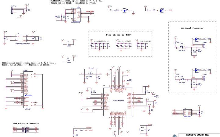 GL830详细电路原理图资料免费下载