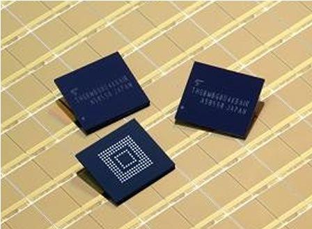 東芝推出全球最小嵌入式NAND閃存產品,可用于各...