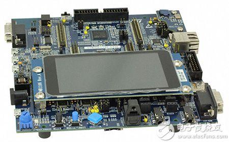 STMicroelectronics 的 STM32F779 評估板圖片