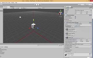 在英特尔RealSouth.Unity工具包中对资产应用操作