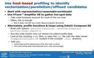先进的英特尔Xeon Phi™协处理器性能第1部分:移植清单