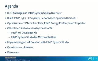 英特尔?物联网平台的软件开发工具