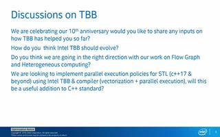 英特尔线程构建块(英特尔®TBB)第十周年