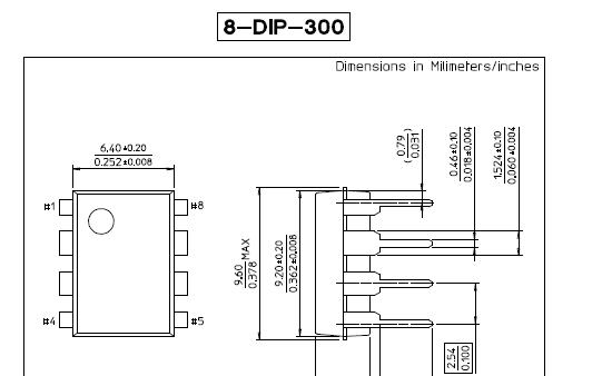 DIP封装系列尺寸详细资料免费下载