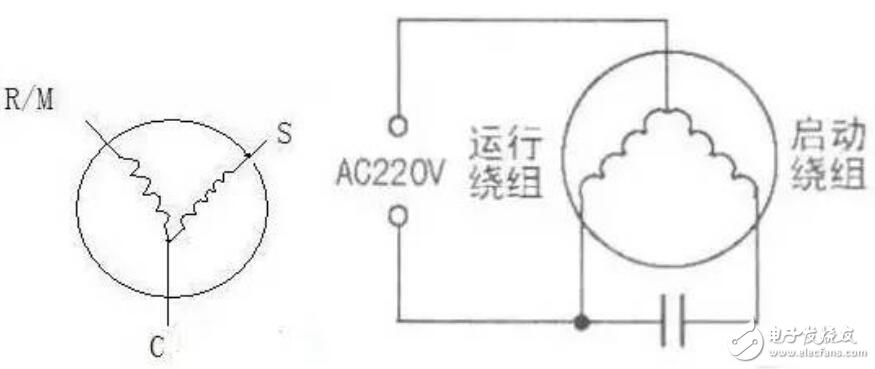 压缩机接线图