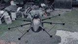 無人機汽車首次成功完成的高空試飛