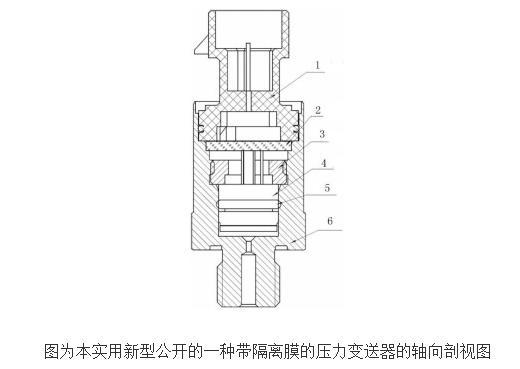带隔离膜压力变送器的工作原理及设计