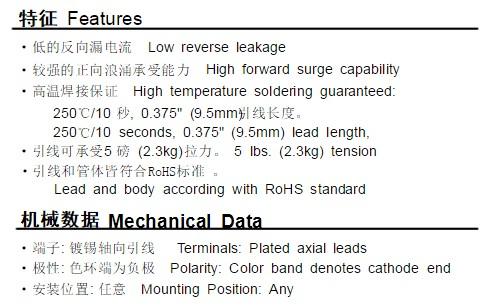 r3000二极管参数介绍 r3000二极管可以用什么代替