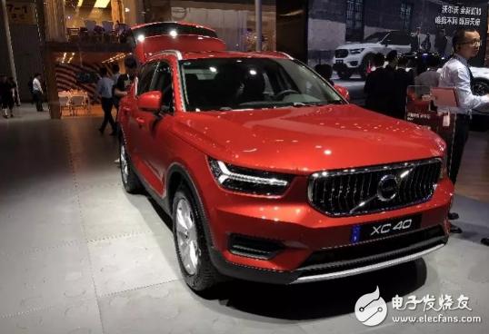 沃尔沃全新XC40亮相成都车展,预计国产版本将于明年初正式上市