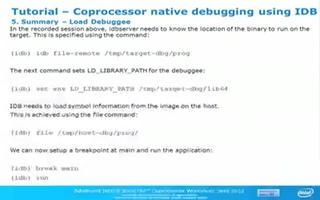 高级英特尔Xeon Phi™协处理器车间调试第5部分:调试教程