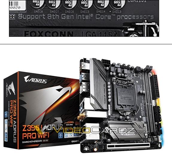 技嘉新主板泄密 i9-9900K/i7-9700K等处理器也是八代酷睿