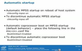 高级英特尔Xeon Phi™协处理器车间系统管理第3部分:配置