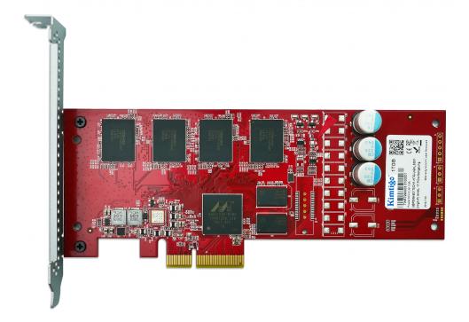 HHHL企业级SSD新品Kimtigo P3500A面世,具有低延时和高性能的特点