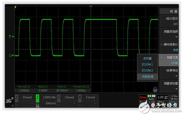 如何保证示波器测量精度 揭开示波器参数测量背后的算法