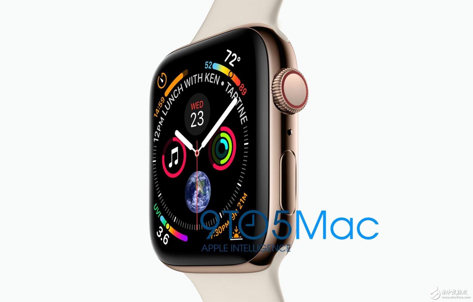 AppleWatch4将更大分辨率更高