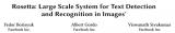 Facebook研究人员提出了一个大规模图像文本提取和识别系统——Rosetta