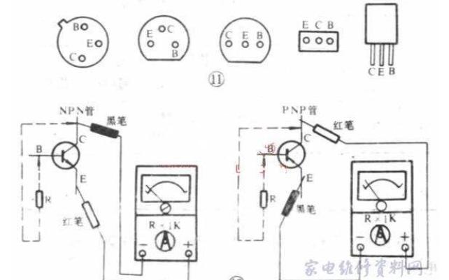 如何使用万用表对三极管进行测量?详细资料概述