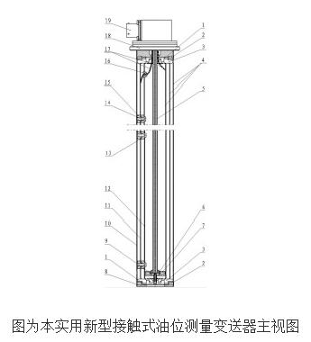 接触式油位测量变送器的工作原理及设计