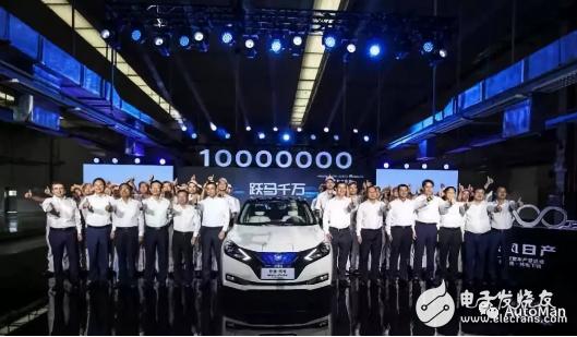东风日产正式达成了1000万辆产量规模,驶入电动化赛道
