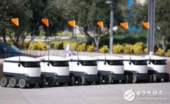 Starship推全球最大的机器人配送服务,为用...
