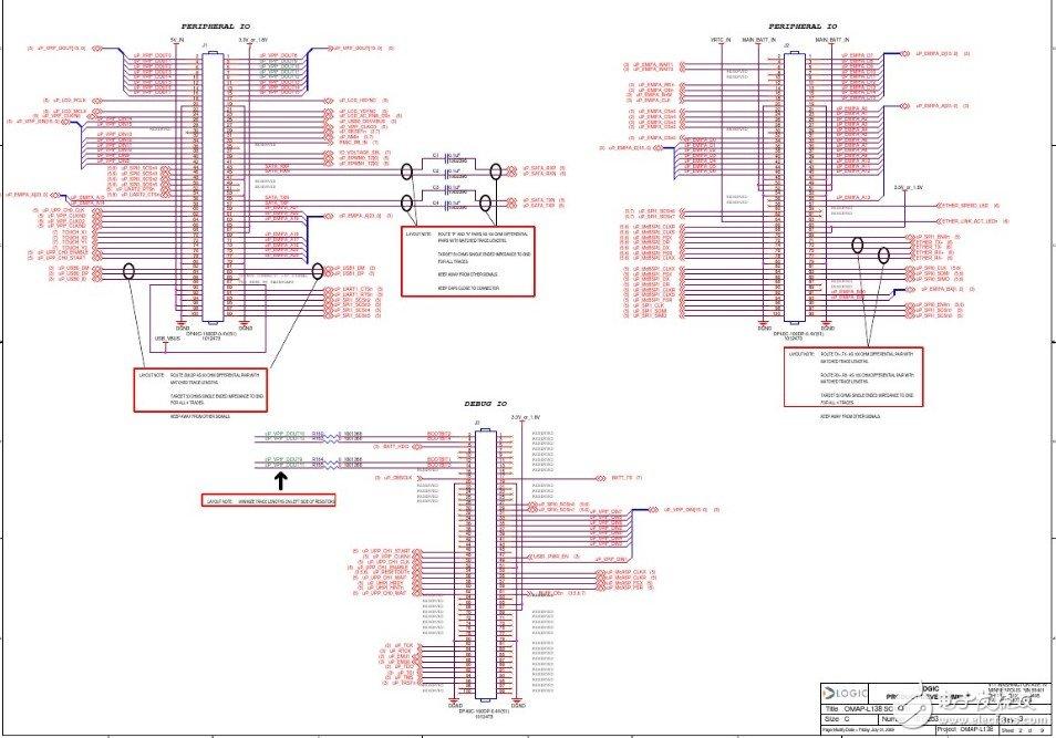 TMS320C6748 中文资料(引脚图/原理图符号/PCB布局)