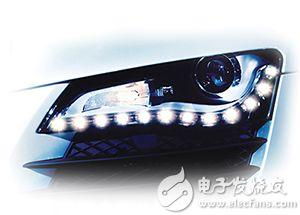 LED 日间行车灯图像