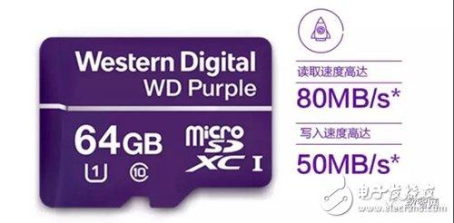 西部数据专为监控摄像机打造首款TF移动存储卡,了解有何特点