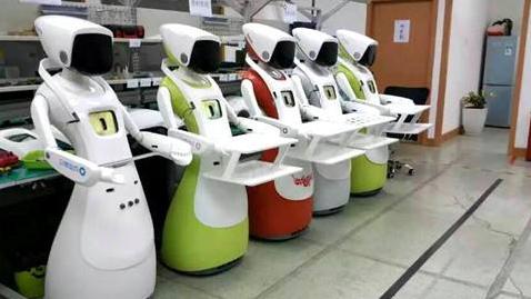 服务机器人全球市场增长巨大 企业巨头抢占市场制高...