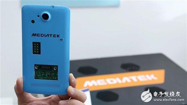 联发科首次公开5G测试用原型机 下载速率最高可达5Gbps