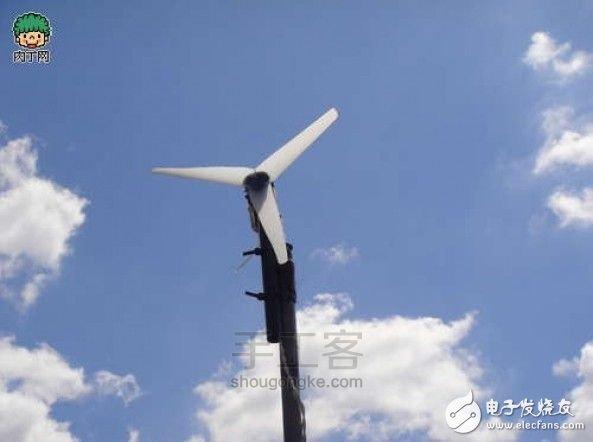简易风力发电机制作方法