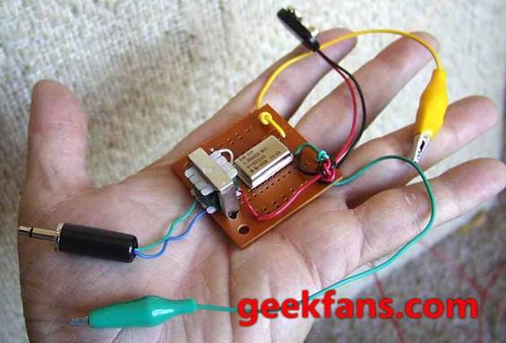 無線電波發射器diy圖解