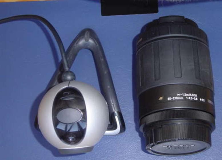 USB超级望远镜的制作方法