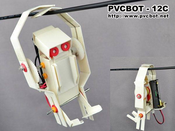 吊绳攀爬机器人详细制作教程