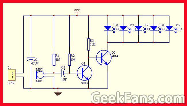 声控LED旋律灯制作教程