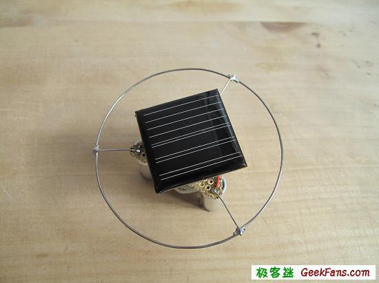 太阳能陀螺详细制作过程