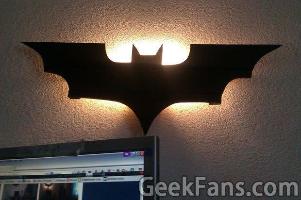创意蝙蝠侠灯制作方法