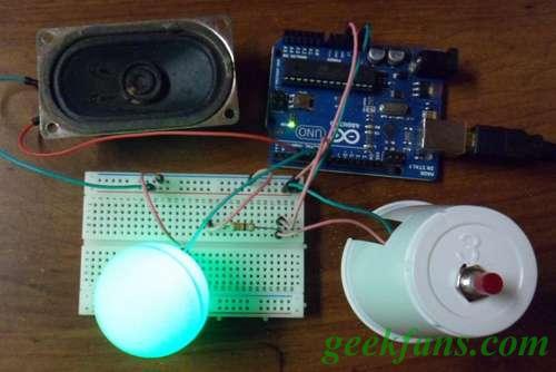LED警报器制作教程