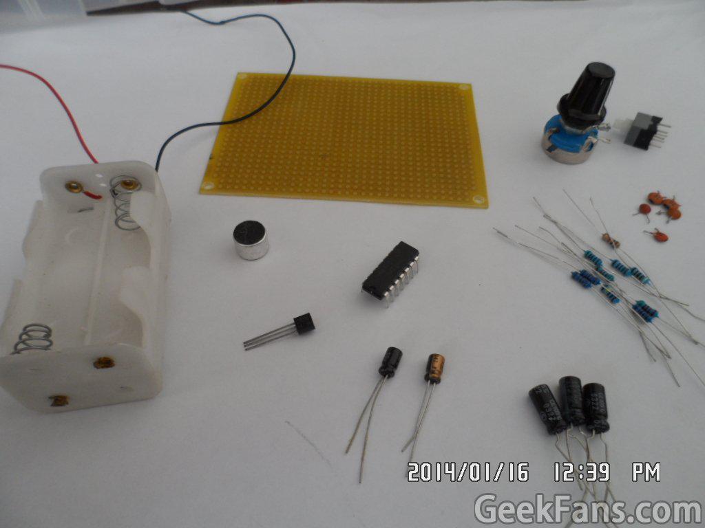高精度無線話筒制作方法 附電路圖