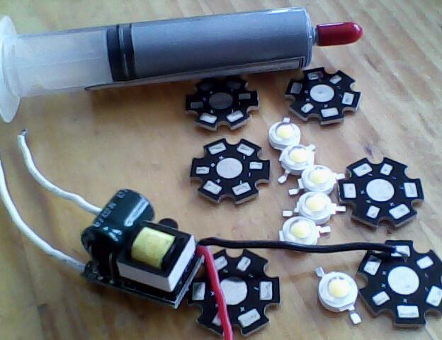 高亮度LED灯diy过程