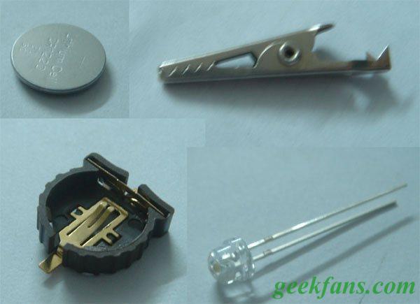 便攜LED小燈制作方法