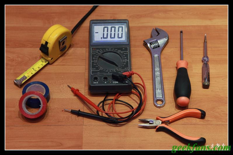 自制LED台灯详细制作过程