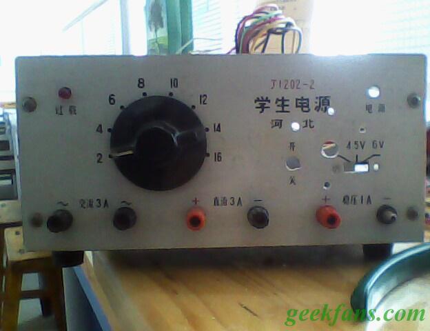 可调稳压电源制作图解