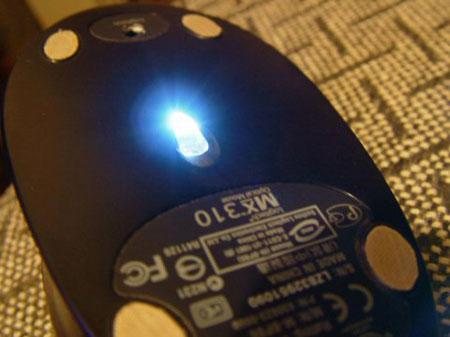 鼠標LED燈diy教程